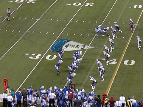 NFL fans on Twitter lose their heads as Indianapolis Colts attempt the worst play of all-time against New England Patriots