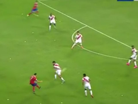Arsenal's Alexis Sanchez channels inner Mesut Ozil with brilliant pass for Chile