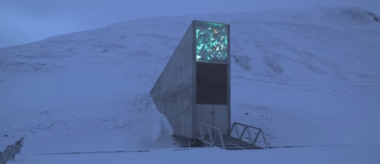 The vault looks like a villain's lair (Picture: YouTube/CNN)