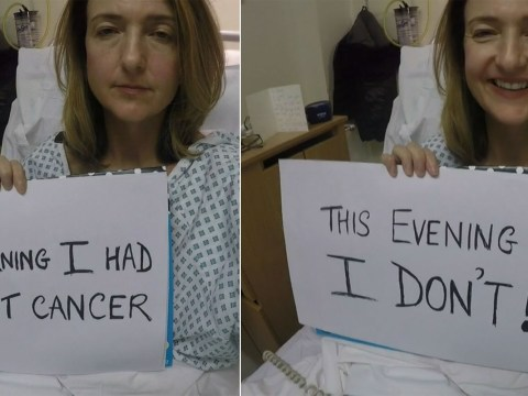 The BBC's Victoria Derbyshire recorded an incredibly moving video diary after her mastectomy