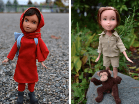 This artist turns pre-owned Bratz dolls into inspiring women through history