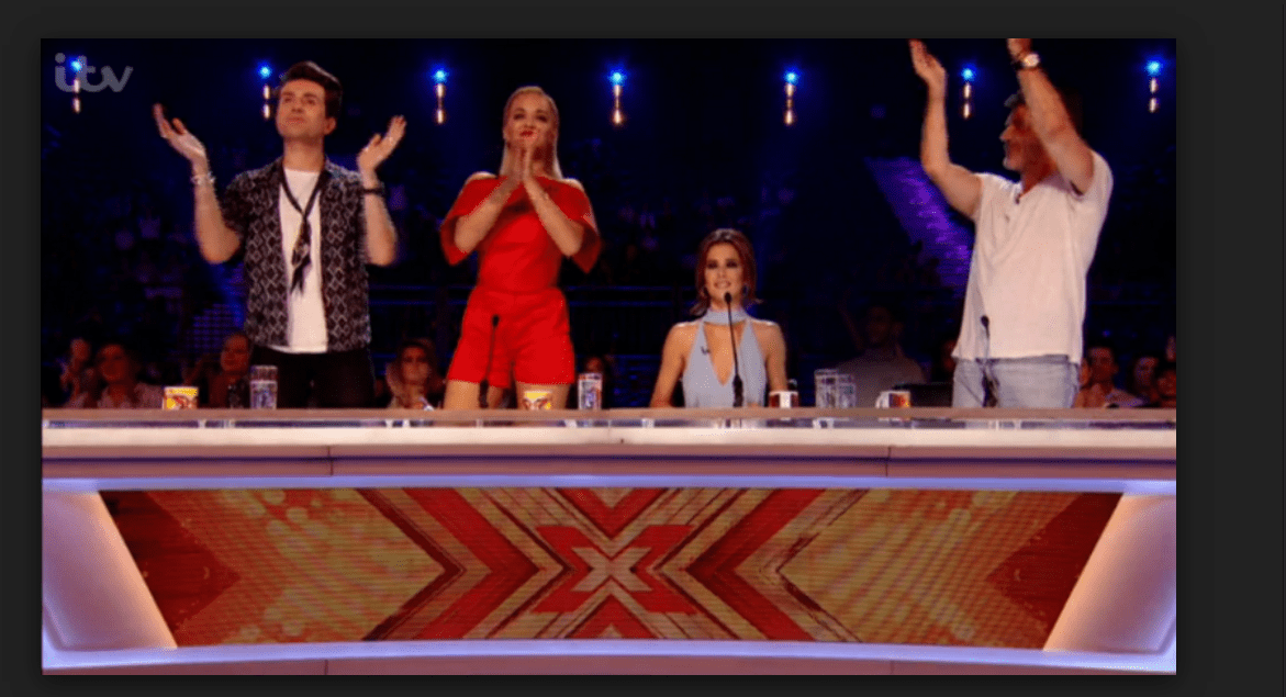 x factor clapping judges