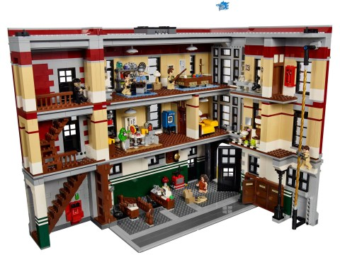 Lego reveal their new Ghostbusters HQ and it's EVERYTHING
