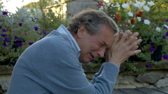 FROM ITV STRICT EMBARGO - No Use Before Tuesday 10 November 2015 Emmerdale - Ep 7349 Thursday 19 November 2015 - 2nd Ep . It's all too much and Ashley Thomas [JOHN MIDDLETON] privately breaks down in despair as his world starts to implode. Meanwhile, partner Harriet is still in the dark over Ashley's condition. Picture contact: david.crook@itv.com on 0161 952 6214 This photograph is (C) ITV Plc and can only be reproduced for editorial purposes directly in connection with the programme or event mentioned above, or ITV plc. Once made available by ITV plc Picture Desk, this photograph can be reproduced once only up until the transmission [TX] date and no reproduction fee will be charged. Any subsequent usage may incur a fee. This photograph must not be manipulated [excluding basic cropping] in a manner which alters the visual appearance of the person photographed deemed detrimental or inappropriate by ITV plc Picture Desk. This photograph must not be syndicated to any other company, publication or website, or permanently archived, without the express written permission of ITV Plc Picture Desk. Full Terms and conditions are available on the website www.itvpictures.com