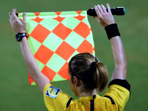 Female referee victim of sexist attack after football fan tries to slap her with his penis