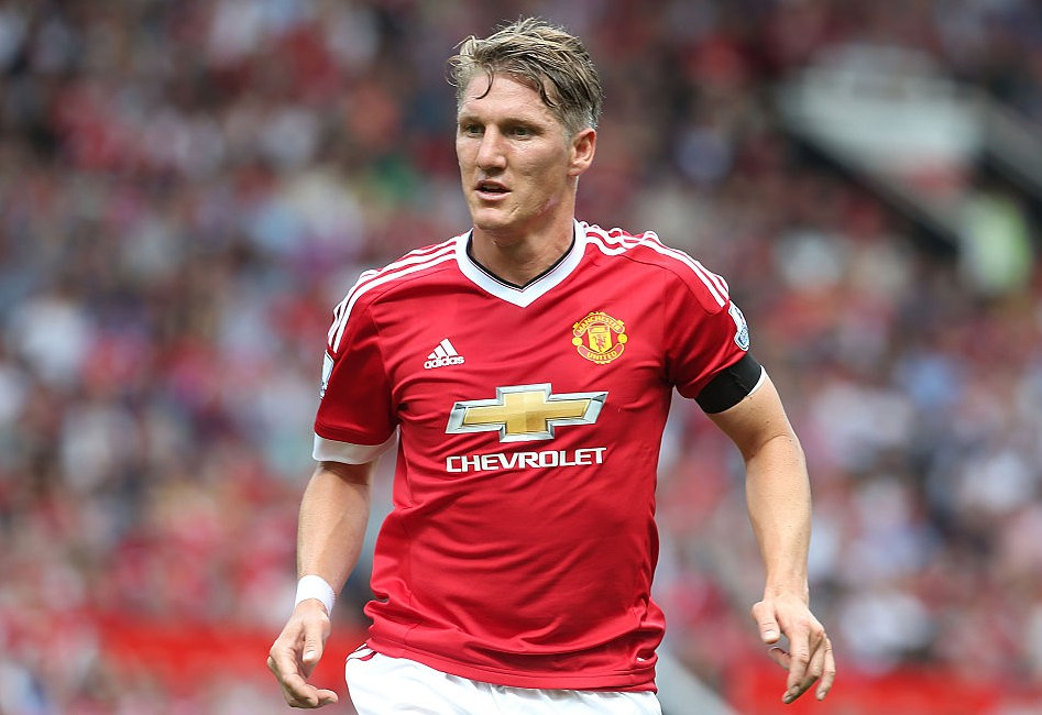 MANCHESTER, ENGLAND - AUGUST 08:  Bastian Schweinsteiger of Manchester United in action during the Barclays Premier League match between Manchester United and Tottenham Hotspur at Old Trafford on 8 August 2015 in Manchester, England.  (Photo by Matthew Peters/Man Utd via Getty Images)