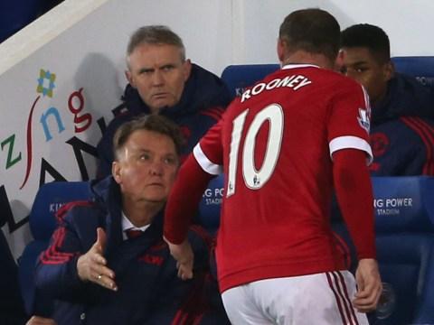 It is time Manchester United boss Louis van Gaal dropped Wayne Rooney?