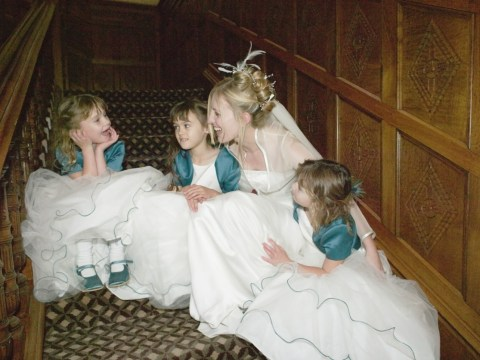 7 ways to dress your flower girls and page boys for a winter wedding