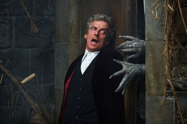 Doctor Who - TX: 28/11/2015 - Episode: HEAVEN SENT (By Steven Moffat) (No. 11) - Picture Shows: ***EMBARGOED UNTIL 24th NOV 2015*** Doctor Who (PETER CAPALDI) - (C) BBC - Photographer: Simon Ridgway