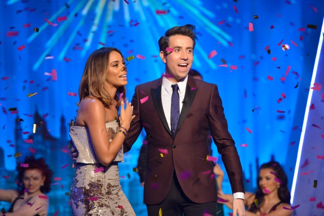 BBC Children In Need Rochelle Humes Nick Grimshaw