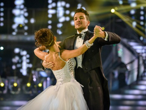 Woman left 'traumatised' by Peter Andre's balls popping out of his Strictly Come Dancing costume