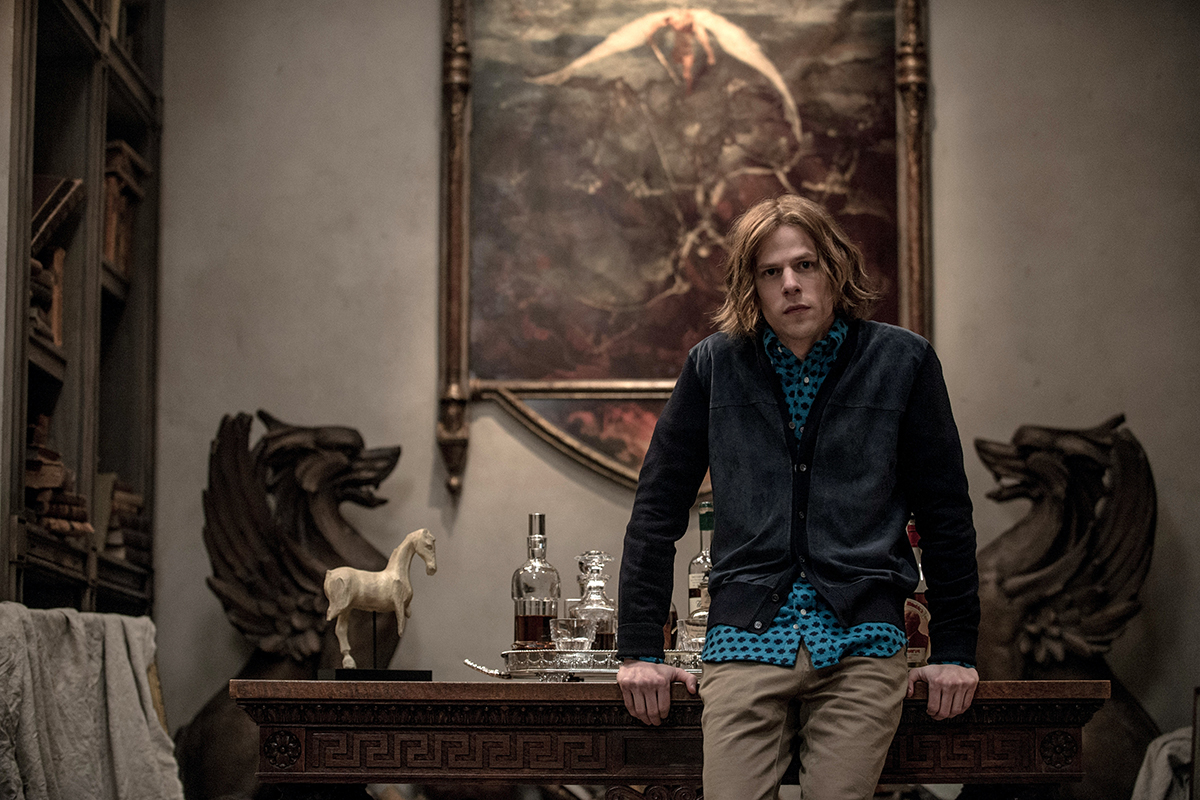 Jesse Eisenberg confirms he'll return as Lex Luthor in Justice League movie