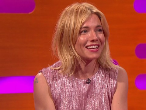 Sienna Miller slammed for not wearing a poppy on The Graham Norton Show