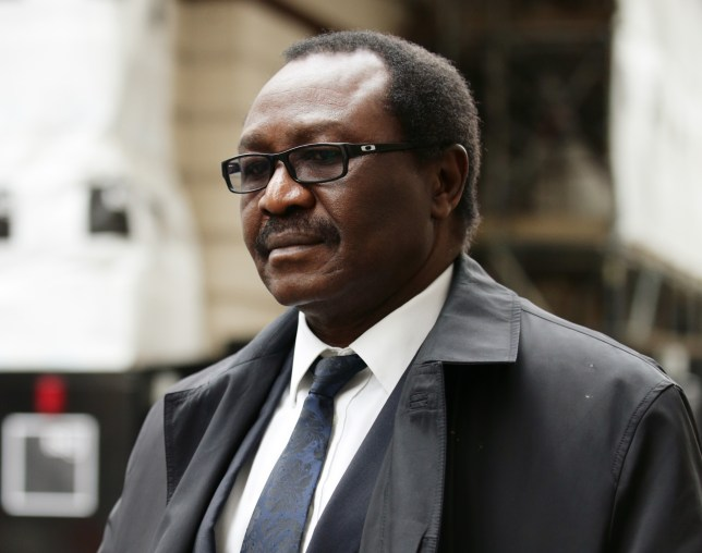 Dr Adedayo Adedeji, 63, arrives at the Old Bailey, London (Picture: PA)