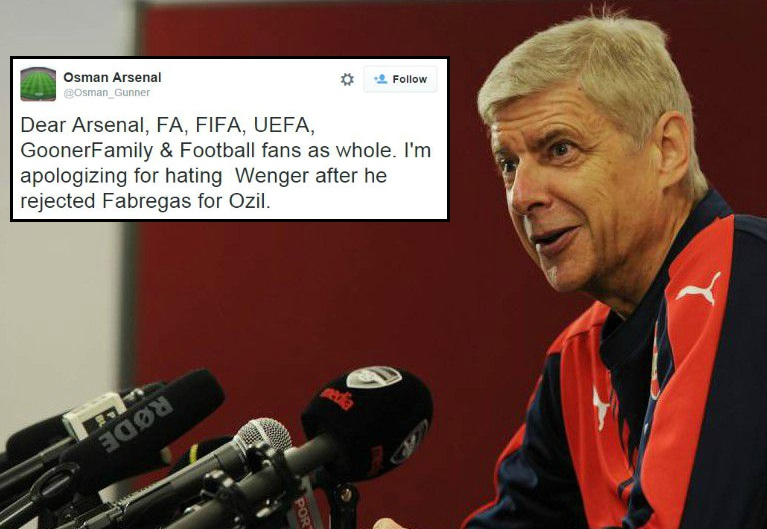 Arsenal fans admit Arsene Wenger knows best as Cesc Fabregas flops again for Chelsea