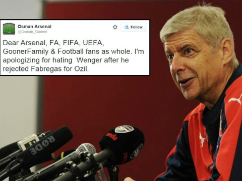 Arsenal fans admit Arsene Wenger knows best as Cesc Fabregas flops again for Chelsea