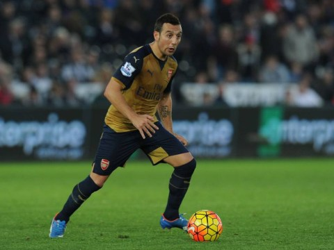 Arsenal's Santi Cazorla rated as the best defensive midfielder in Europe by CIES Football Observatory
