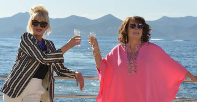 """Joanna Lumley and Jennifer Saunders star in the comedy """"Absolutely Fabulous: The Movie"""" <P> <B>Ref: SPL1164490 031115 </B><BR /> Picture by: Fox Searchlight/Splash News<BR /> </P><P> <B>Splash News and Pictures</B><BR /> Los Angeles: 310-821-2666<BR /> New York: 212-619-2666<BR /> London: 870-934-2666<BR /> photodesk@splashnews.com<BR /> </P>"""