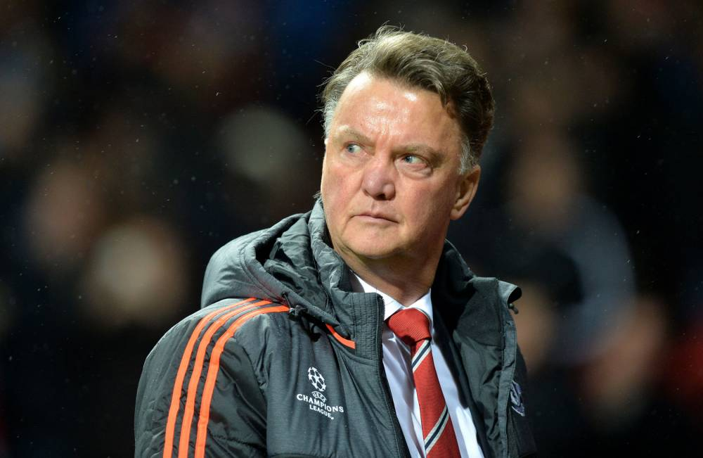 File photo dated 03-11-2015 of Manchester United manager Louis van Gaal. PRESS ASSOCIATION Photo. Issue date: Wednesday November 4, 2015. Louis van Gaal stood by his controversial decision to substitute Anthony Martial for Marouane Fellaini in Manchester United's narrow victory over CSKA Moscow. See PA story SOCCER Man Utd. Photo credit should read Martin Rickett/PA Wire.