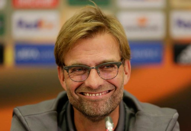 Football - Liverpool Press Conference - The Kazan Arena, Kazan, Russia - 4/11/15  Liverpool manager Juergen Klopp during the press conference  Action Images via Reuters / Henry Browne  Livepic  EDITORIAL USE ONLY.
