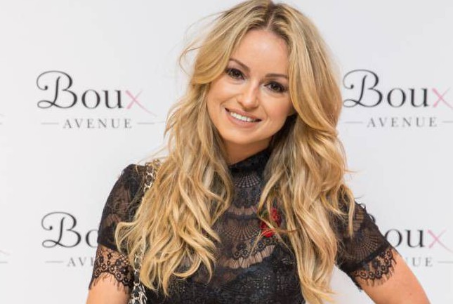 Ola Jordan at the opening of Theo Paphitis' flagship Boux Avenue store Boux Avenue Launch Party, London, Britain - 04 Nov 2015