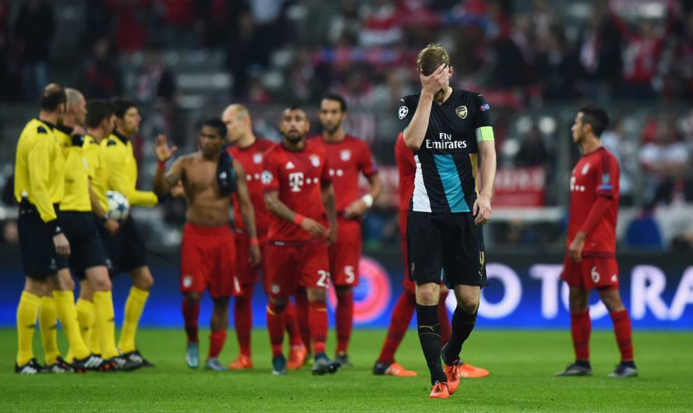Per Mertesacker believes Bayern Munich players want to help Arsenal qualify from their Champions League group
