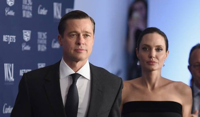 NEW YORK, NY - NOVEMBER 04: Brad Pitt and 2015 Entertainment Innovator Angelina Jolie Pitt attend the WSJ. Magazine 2015 Innovator Awards at the Museum of Modern Art on November 4, 2015 in New York City. (Photo by Dimitrios Kambouris/Getty Images for WSJ. Magazine 2015 Innovator Awards)