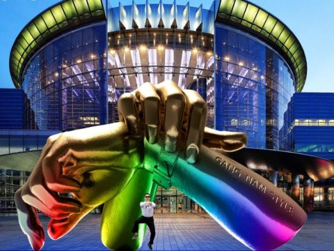 Op! Op! Op! There's going to be a Gangnam Style statue in South Korea