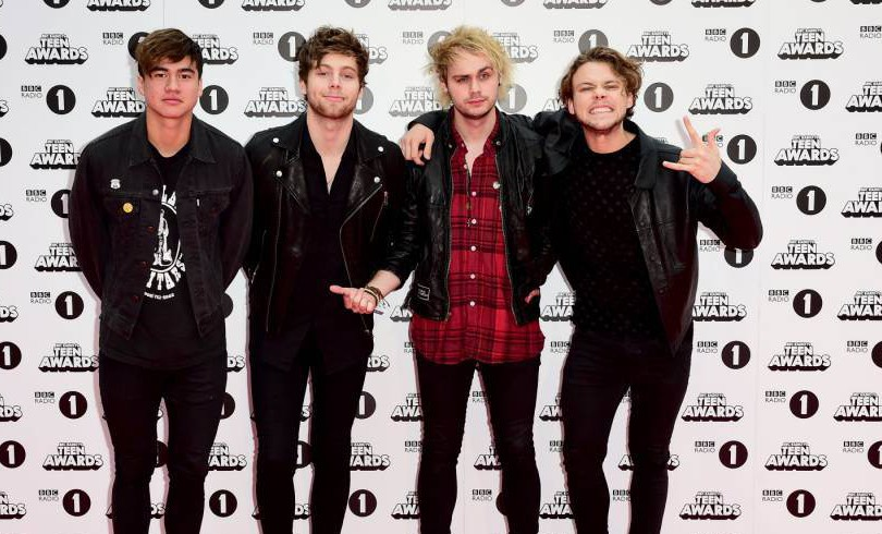 5SOS gushed about Cameron Diaz and Benji Madden on radio show… to Benji's ex