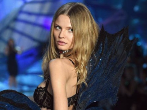 Victoria's Secret model brilliantly shuts down a question about her diet