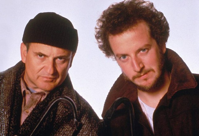 No Merchandising. Editorial Use Only. No Book Cover Usage... Mandatory Credit: Photo by Moviestore/REX Shutterstock (1576209a).. Home Alone,  Joe Pesci,  Daniel Stern.. Film and Television.. ..