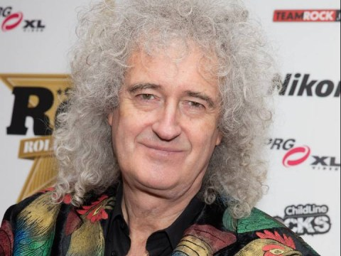 Brian May dedicates Queen's Classic Rock award to the late Freddie Mercury