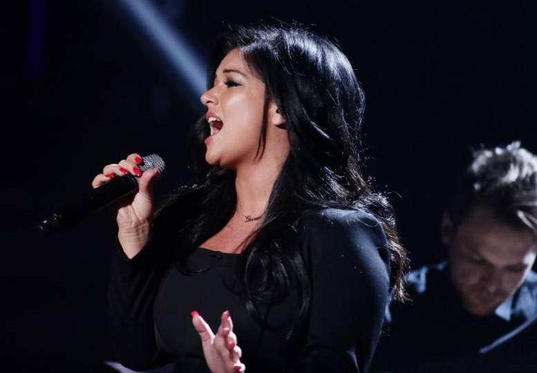 *** MANDATORY BYLINE TO READ: Syco / Thames / Corbis ***<BR /> The X Factor Live Finals, London, Britain - 14 November 2015. <P> Pictured: Lauren Murray <B>Ref: SPL1176750 141115 </B><BR /> Picture by: Syco/Thames/Corbis/Dymond<BR /> </P><P>