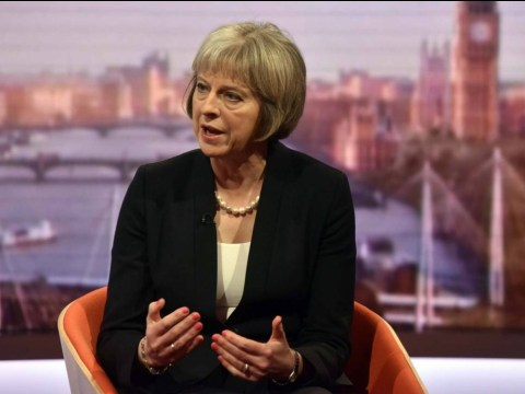 Syrians in Britain have been 'thoroughly screened' says Theresa May