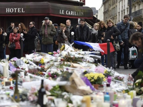 Video shows 'ninth attacker' behind Paris terror attacks