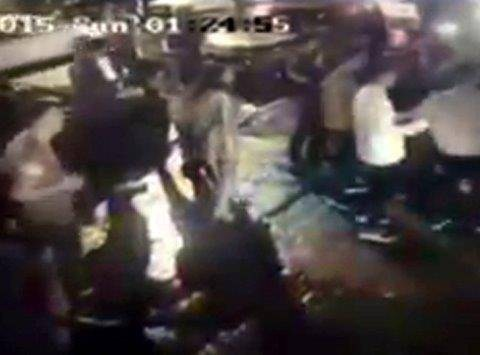 CCTV films takeaway couple being beaten up as they close shop