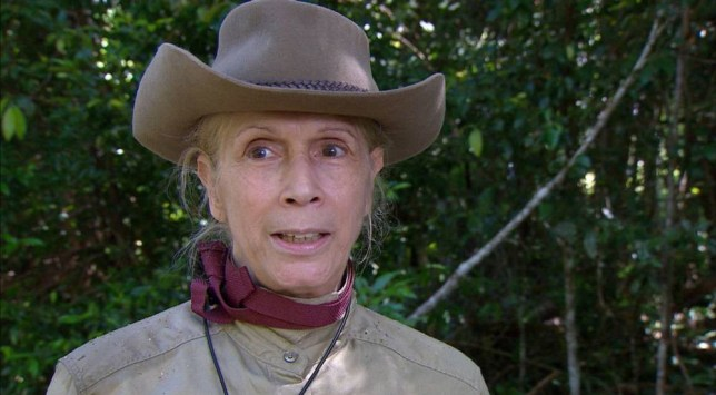 ***EMBARGO, NOT TO BE USED BEFORE 21:00 18 Nov 2015 - EDITORIAL USE ONLY - NO MERCHANDISING*** Mandatory Credit: Photo by ITV/REX Shutterstock (5393893bw) Scare Fair challenge: Lady Colin Campbell 'I'm A Celebrity...Get Me Out Of Here!' TV Show, Australia - 18 Nov 2015