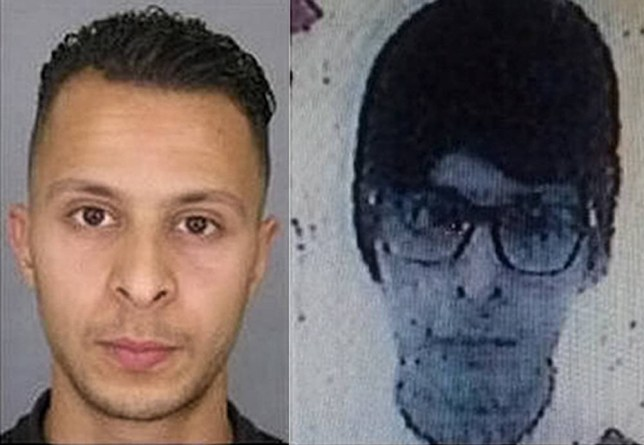 "Enterprise News and Pictures 20/11/15nPic shows: New picture released today (on the right) by French Police of Belgian national Salah Abdeslam, 26, who is wanted for taking part in the Paris terror attacks on Friday where 129 people were killed and 352 injured in a series of co-ordinated terror attacks. French Police released this new image - alongside the original one (left) and said he is now wearing a wig and glasses and is using the name ""Yassine Baghli.""nSee story..."
