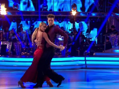 Jay McGuiness almost rendered Darcey Bussell speechless with his Strictly tango