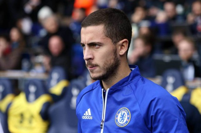 Editorial use only. No merchandising. For Football images FA and Premier League restrictions apply inc. no internet/mobile usage without FAPL license - for details contact Football Dataco Mandatory Credit: Photo by Ben Sawyer/IPS/REX Shutterstock (5450245v) Eden Hazard of Chelsea Barclays Premier League 2015/16, Tottenham Hotspur v Chelsea, White Hart Lane, London, Britain