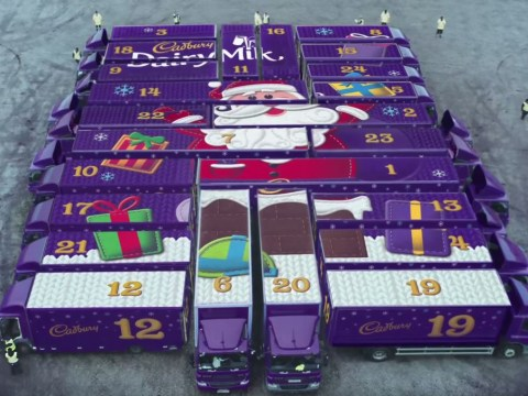 New ad reveals Cadbury's Christmas #cadvent convoy of joy is heading your way