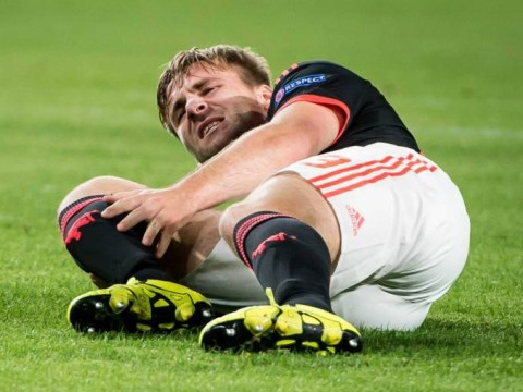 Manchester United ace Luke Shaw says his leg is feeling 'really good' after horrific double leg berak