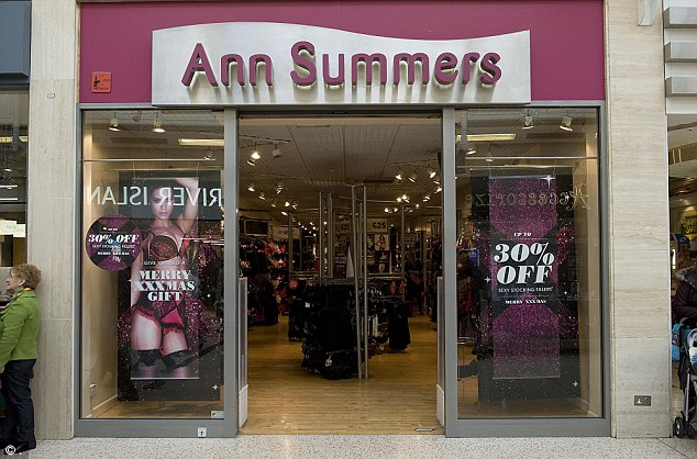 ITV is making a drama about Ann Summers. Yeah, that Ann Summers