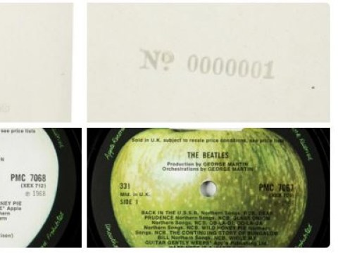 You can own the first ever pressing of The Beatles White Album for £40K