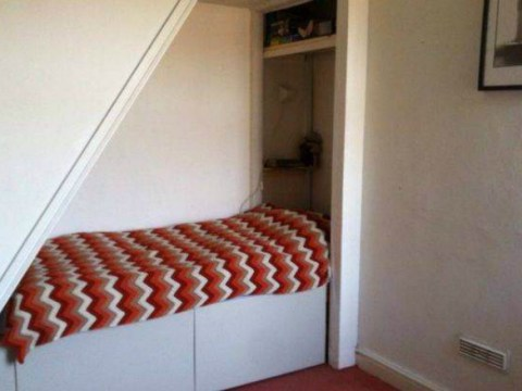 You can rent this bed under the stairs for £380 a month