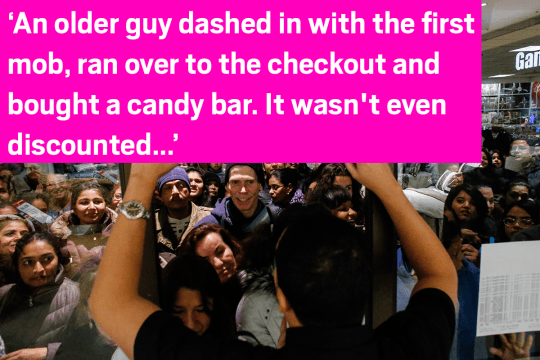Black Friday 2015: Shop workers are sharing their craziest Black