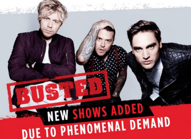 Busted new dates added