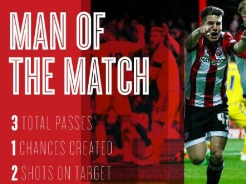 Liverpool ace Sergi Canos proves his class with goal and Man of the Match display for Brentford