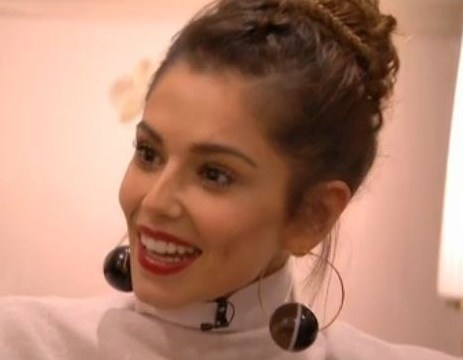 See an adorable mini version of our Cheryl Fernandez-Versini as a ballerina – complete with dimples