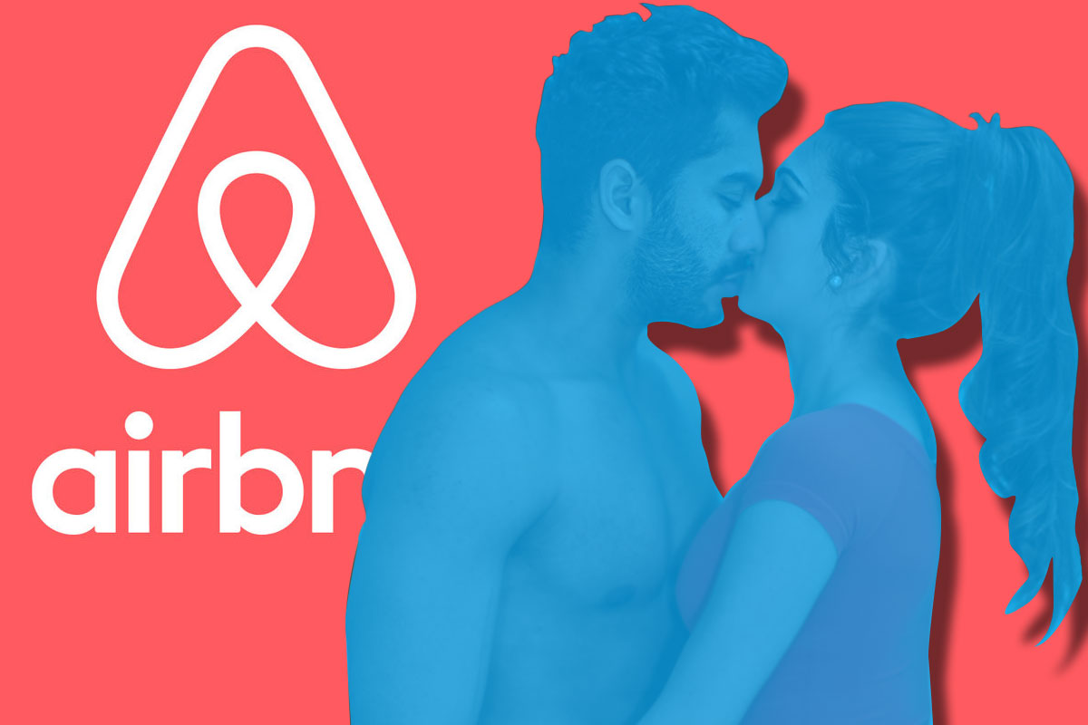 Airbnb is being used for hookups Getty